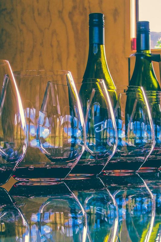 Wine Class:  Not So Dry Wines
